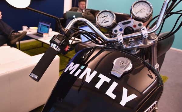 Mintly moottoripyörä